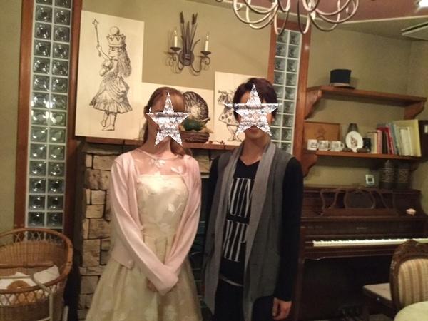 ステキなお客様 宝塚歌劇団星組研1の 都優奈さんと奏碧タケルさん