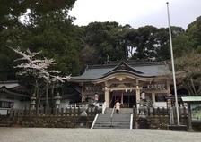 今日は4月1日、公智神社⛩の月次祭でスタート❣️帰り道の桜が満開です。🌸🌸