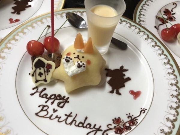 いくつになってもお誕生日をお祝いしましょうね。❣️蛍鑑賞ディナーご予約受付中継続中です。
