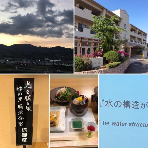 昨日は、ゆの里でお水と腸活の学び👨🎓✍️今日は高野山に詣ります。
