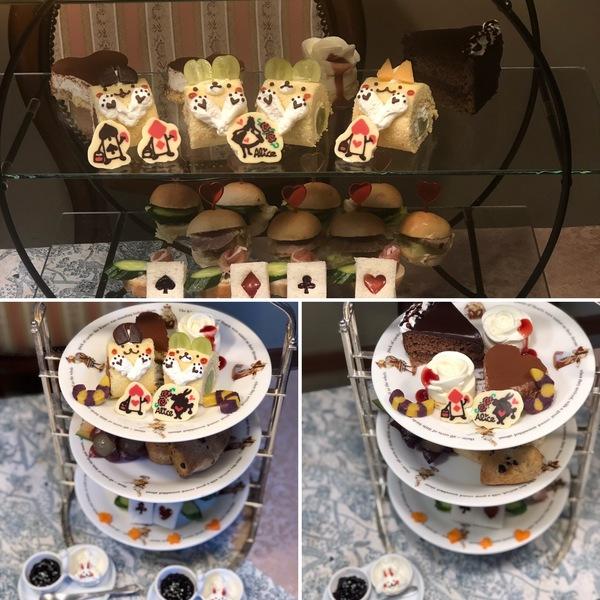 昨日もアフタヌーンティーやお誕生日のお祝いで賑わったアリス。パテシエアリスのガトーショコラホントに美味しいよ。