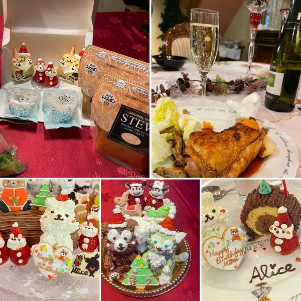 ランチ、ディナー、デリバリー今年のクリスマスは無事終了😊片付け終えてゆっくりホームパーティーも楽しめました。