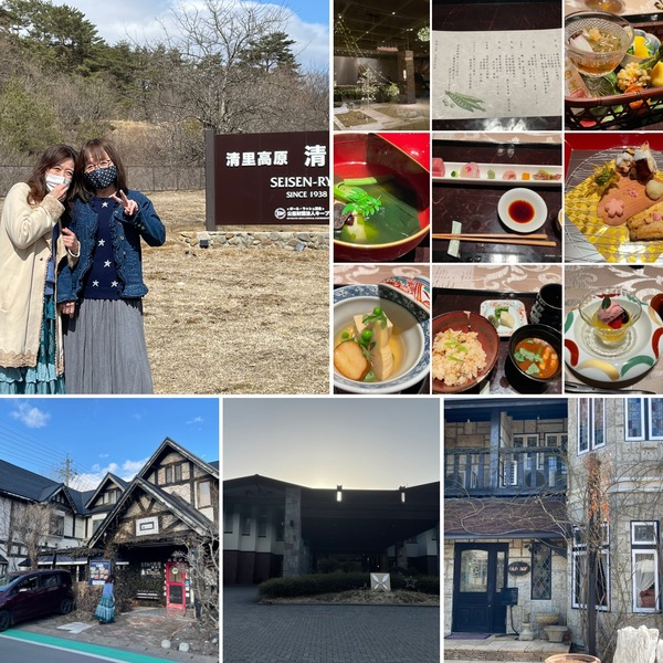 昨日は、清里の街巡りの後、シェフアリス念願の軽井沢へ