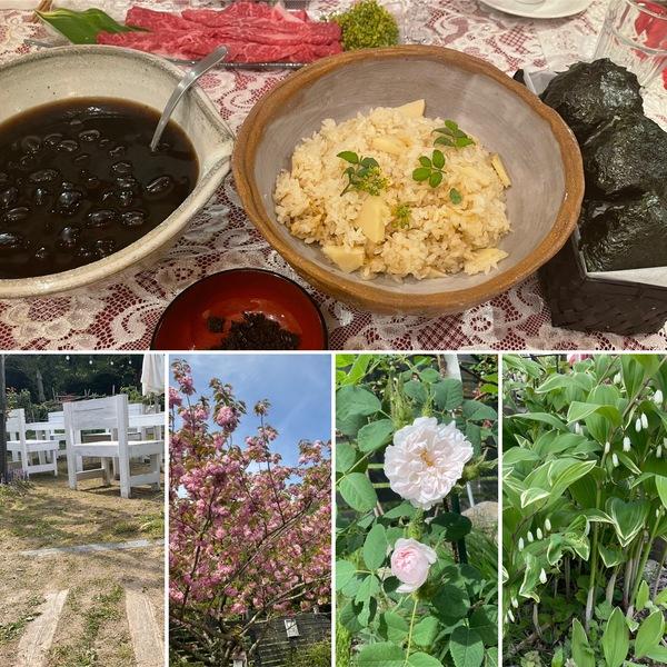日曜日に分かち合いのの食事会を無事開催❣️ガーデンは草刈りしてスッキリ🤗今日のアリスは定休日です。