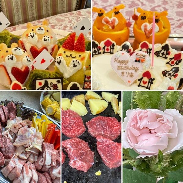 オールドローズも咲き出した不思議の国で、お誕生日会やBBQ、アフタヌーンティーをお楽しみくださいね。