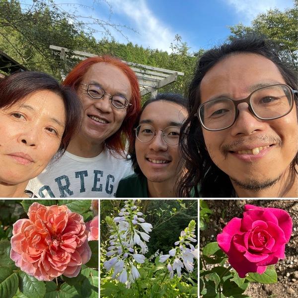 ギフトに生きる石丸さん達 熊本のサイハテ村に旅立ち🚗今日も不思議の国の花園で小さい秋見つけてくださいね。🤗